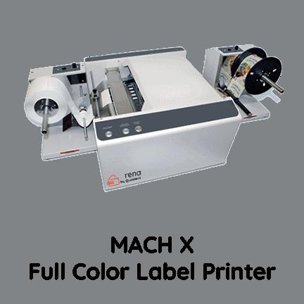 MACH X Digital Full Color Label Printer - Rena by Quadient