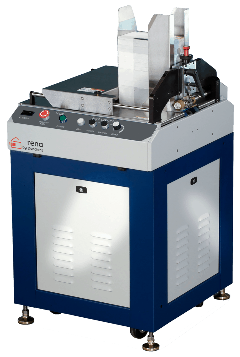XPS ProFeed Vacuum Shuttle Feeder - Rena by Quadient