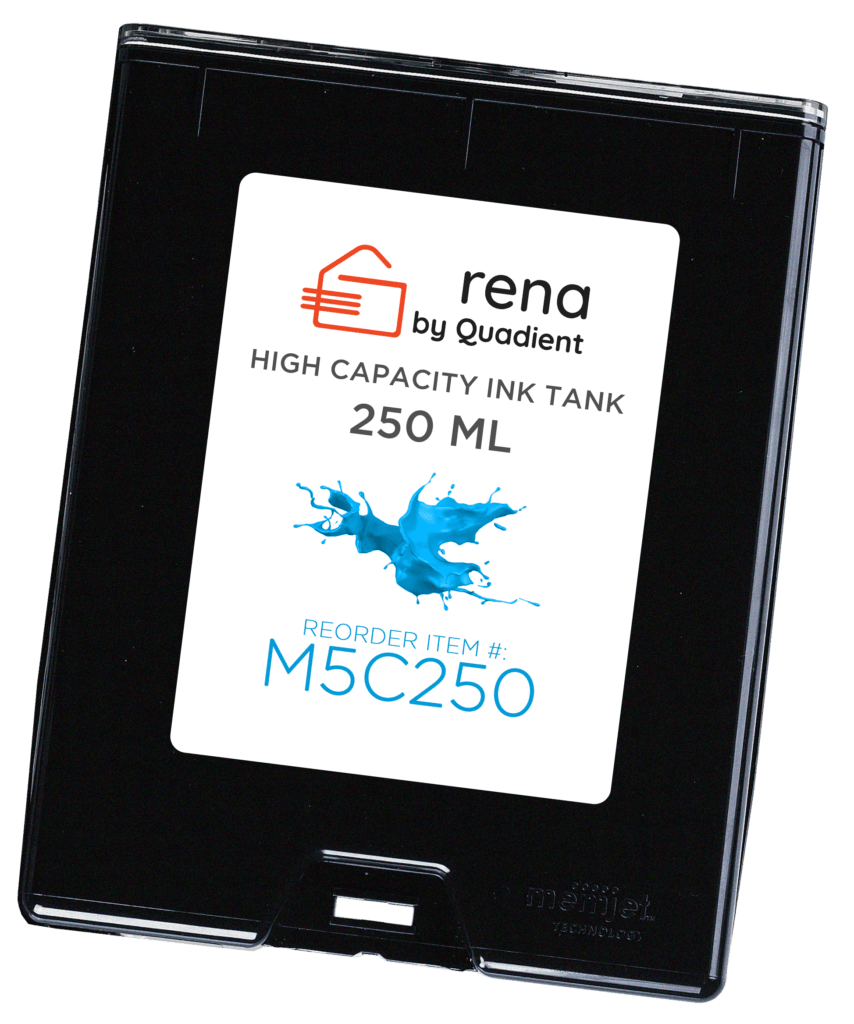 Memjet Cyan Ink Tank - Rena by Quadient